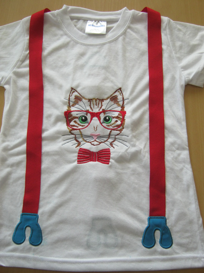 Hipster Kitty Shirt